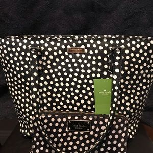 New with tags Kate spade medium tote